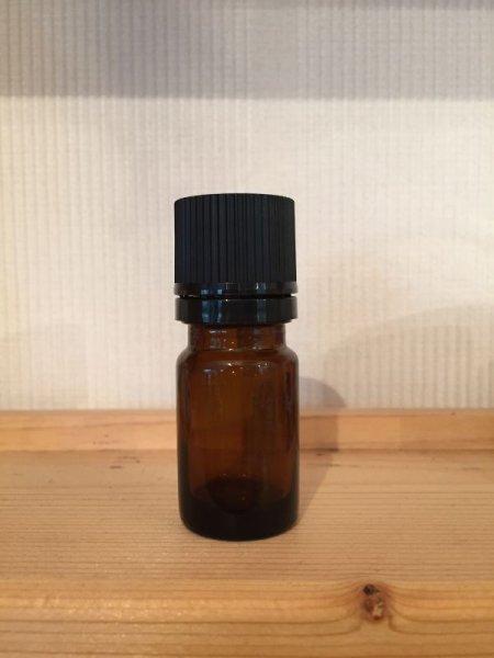画像1: ドロップ式遮光瓶(茶) 5ml (1)